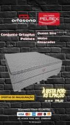 Conjunto Queen Size OrtoPlus Pelmex