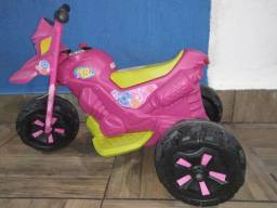 Mini Moto Elétrica Infantil Fashion