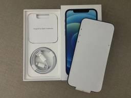 Título do anúncio: Iphone 12 128gb Azul completo e na garantia.
