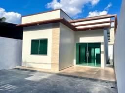 Casa nova, 3 quartos, Ponta Negra, Bosque das Palmas