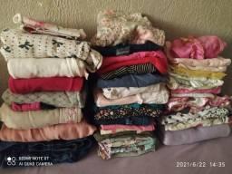 Vendo lote de roupas e calçados de menina
