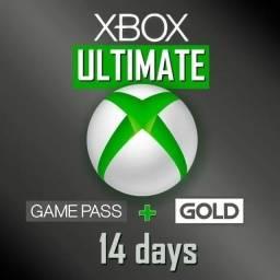 Xbox Game Pass Ultimate + Live Gold 14 Dias  - Atacado