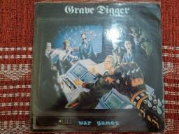 Grave Digger - War Games - LP - Importado - Impecável