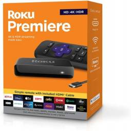 Roku Premiere 4k Hdr Controle Remoto