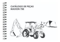 Título do anúncio: Catálogo de Peças Retroescavadeira Maxion 750