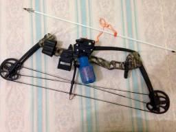 Arco flechas mas kit pra pesca