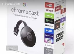 Chromecast(sua tv vira smart)