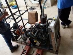 Motor tipo draga 3 cilindros