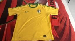 Camisa seleção brasileira 2010