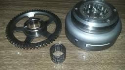 Roda fonica(volante magnéto) + placa partida+cremalheira cbx250 twister
