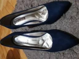 Lindo sapato social salto alto Azaléia tamanho 35