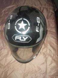 Capacete f-8 fly