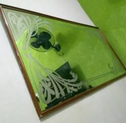 Espelho lapidado 250 reais!!!