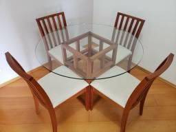 41e2d11a3 mesa de jantar com tampo de vidro