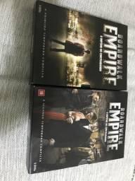 Box Boardwalk Empire 1 e 2 temporadas 10 dvds