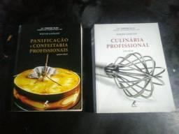 Livros de Culinária e Panificação Profissional