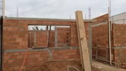 Casa em Construção com doc ok para financiamento em Cosmópolis-SP. (CA0134)