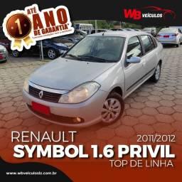 Renault Symbol 1.6 16v Hi-Flex Privilege