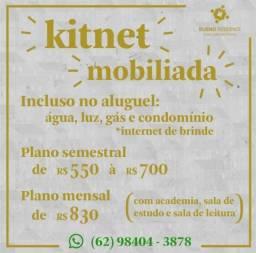 Kinet Mobiliada incluso- Água, Energia, Gás, Condomínio, Academia, IPTU e internet