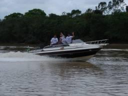 Usado, Lancha 22 pés cabinada diesel comprar usado  Itajaí