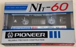 Fita K7 Cassete Pioneer N1t-60 | Type Normal | Made Japan | Preço Unitário
