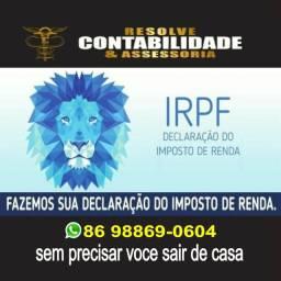 Declaração de Imposto de Renda IRPF 2020 sem sair de Casa !!! Contador