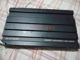 Módulo pawer one 2.400 watts 4ch 600