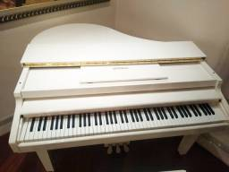Piano de cauda branco digital tokai tp88c