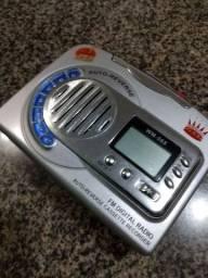 Toca fitas AM FM Walkman gravador