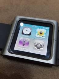 iPod Nano 6a geração + pulseira Lunatik novíssima