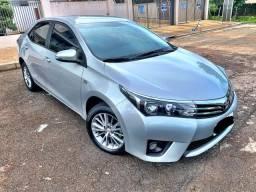 Toyota Corolla XEI 2.0 Flex 2015 70mil km câmbio automático / zerado / tro.co e financio