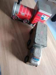 Faber Castell | Trêm e Caminhão de lata antigos, usado comprar usado  São José dos Campos