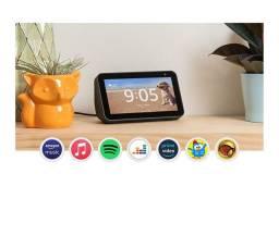 Alexa Eco Show 5 smart speak com tela 5'5 ( novo com nota)