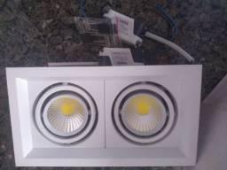 Spot com 2 lâmpadas startec produto novo.