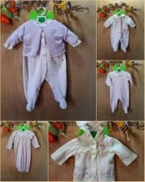 Lote macacões importados carter's bebê menina