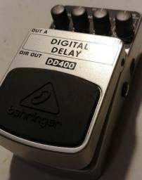 Pedal Behringer DD400 Digital Delay (impecável)