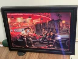Quadro Luminoso, Led 50x69 Elvis Presley, Marilyn Monroe