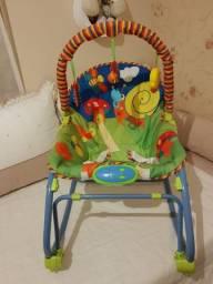 Linda Cadeira de Descanso para bebê, com mobilis