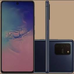 Samsung Galaxy S10 lite Azul ou Preto lacrado, nota e garantia