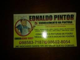 Ednaldo Pintor profissional construção civil