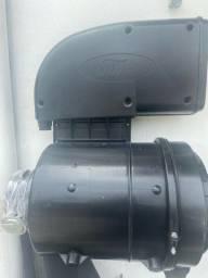 Carcaça do filtro de ar Ford cargo com charuto