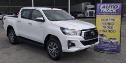 Toyota hilux srv 2.8 tdi cabine dubla 4x4 diesel automatica 2020