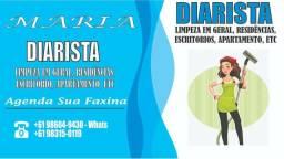 Diarista- faxineira em geral ( 9  *)