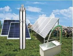Kit Bomba Solar Com Painéis *