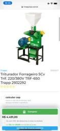 Triturador Forrgeiro Elétrico 7,5 monof trf 650