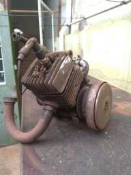 Motor mobilete 75cc com carburador usado