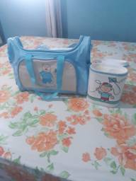 Bolsa e porta mamadeira