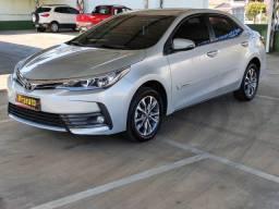 Corolla 1.8 GLI Upper 2018 / único dono Em garantia fabrica