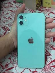 IPhone 11, 64gb, verde, seminovo