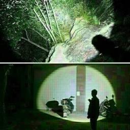 Promoção Mini Lanterna Tática A Pilha Com Zoom